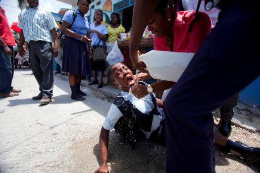 Haiti Student Protest